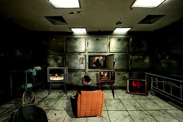 Wer beobachtet Sie? - Surrealismus von MDRN HOME