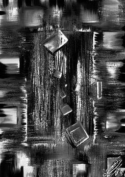 Fallende Blöcke 3 von Remco den Boesterd