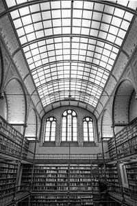 Bibliotheek in het Rijksmuseum van Christa Stroo fotografie