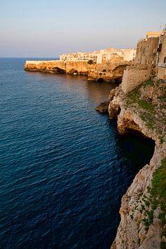 Italia Polignano a Mare sur Sran Vld Fotografie