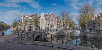 Panorama Keizersgracht Amsterdam sur Peter Bartelings