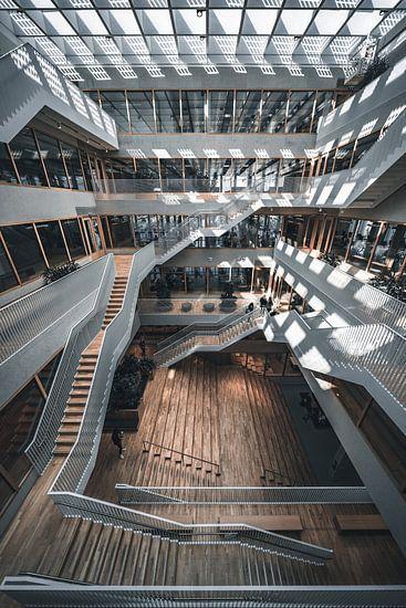Polak gebouw erasmus universiteit campus