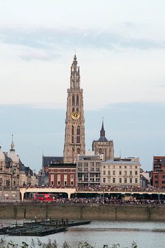 Antwerpen Ponton von Ricky  Oudermans