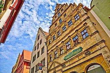 Maison de maître Rothenburg ob der Tauber sur Roith Fotografie