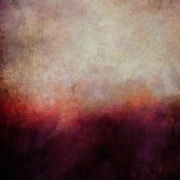 Abstrakte Landschaft 11 von Angel Estevez