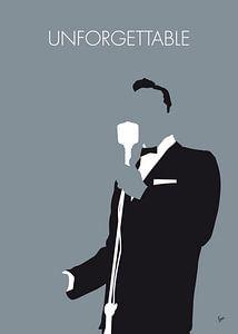 No247 MY Nat King Cole Minimal Music poster von