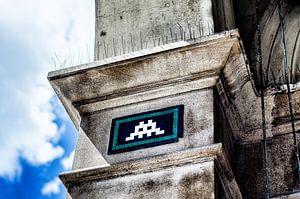 Space Invaders von Aaron Holloway
