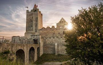 Burgruine Rudelsburg von Sergej Nickel