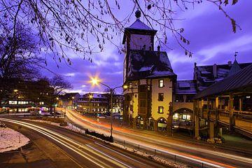 Abendverkehr in Freiburg von Patrick Lohmüller
