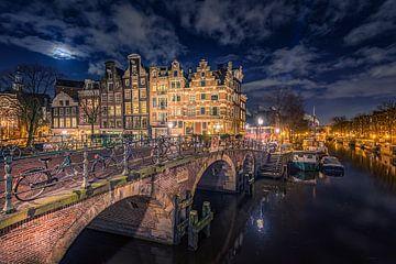 Amsterdam Papiermolensluis von Michiel Buijse