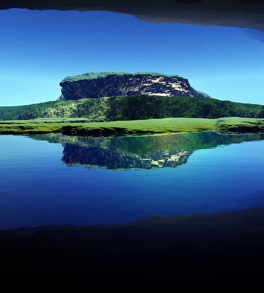 Plateau lointain van Angel Estevez