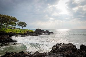 Zon breekt door op Hawaii