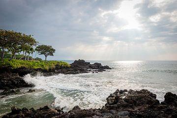 Sonne bricht durch auf Hawaii von Ellis Peeters