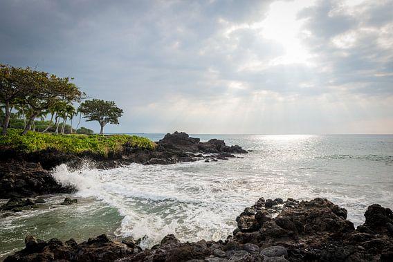 Zon breekt door op Hawaii van Ellis Peeters
