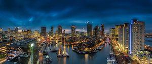 Panorama in Rotterdam