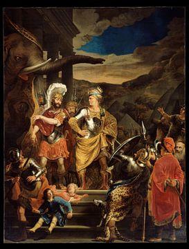 Ferdinand Bol - Fabritius and Pyrrhus sur