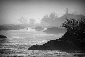 Dordogne in de mist van Dennis Claessens