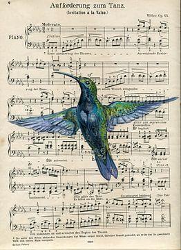 Hummingbird van sarah Loecker