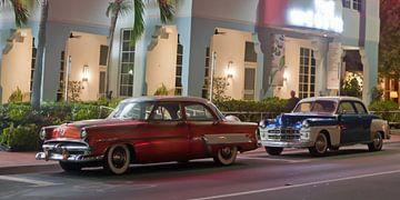 Oldtimer in Miami Beach von t.ART