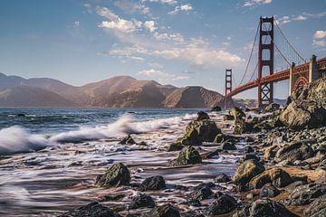 Golden Gate Bridge von Joris Pannemans - Loris Photography