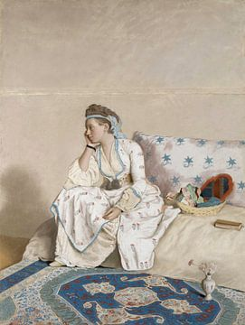 Marie Fargues, Jean-Etienne Liotard - ca. 1756