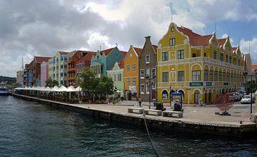 Handelskade Willemstad van Humphry Jacobs