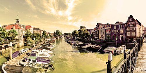 Haven van Dordrecht Nederland Oud
