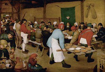 Farmers Hochzeit - Pieter Bruegel