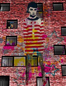 Audrey Hepburn Dadaismus Pop Art Pur von Felix von Altersheim