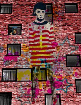 Audrey Hepburn Dadaismus Pop Art Pur van Felix von Altersheim