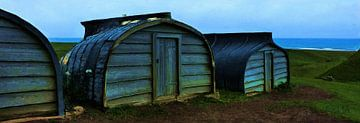 Boot als shed van Frans Jonker