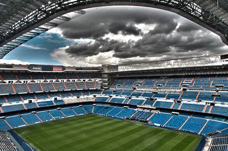 Stadion van Real Madrid in HDR