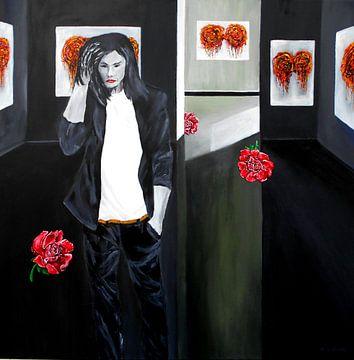 Galeriebesuch van Eberhard Schmidt-Dranske