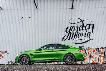 BMW M4 M Performance Java Green van Bas Fransen
