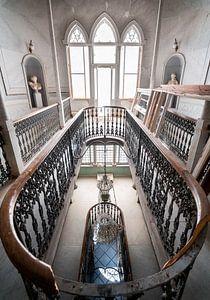 Treppe im Splendid Palace. von Roman Robroek