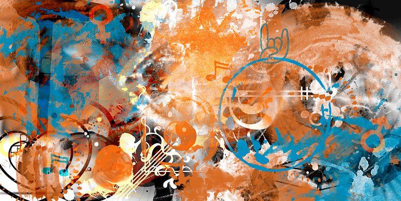 MODERN ART Beyond Control van Melanie Viola