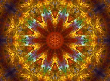 Mandala - Gelassenheit van Doris Kroos