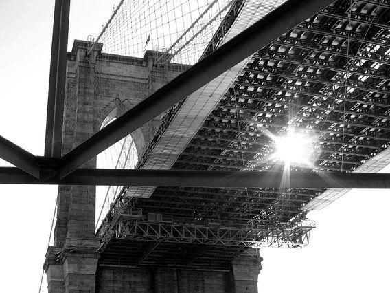 Brooklyn Bridge - Peekaboo van Jutta Klassen