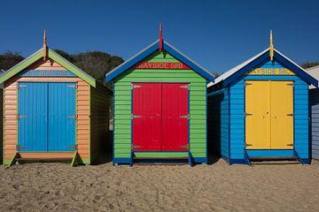 Brighton Beach Houses Melbourne von Tessa Louwerens