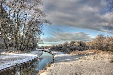 Sneeuw in het duin von Dick Vermeij