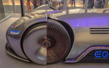 Mercedes-Benz Vision EQ Silver Arrow van Freddie de Roeck