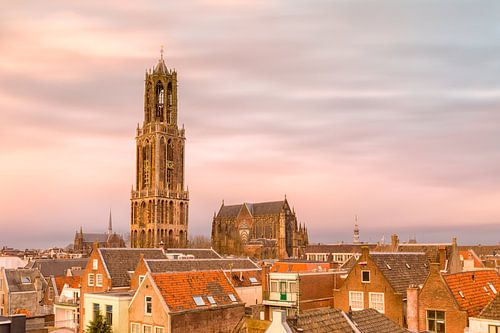 Utrecht - Warme zonsondergang