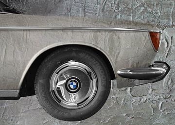 BMW 2000 CS Kunstauto van aRi F. Huber