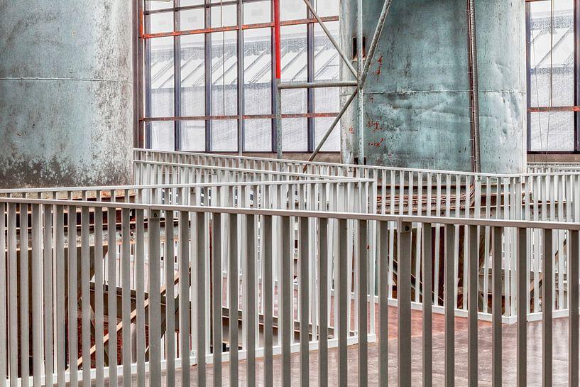 Verlaten gebouw in Nederland van Elly Damen