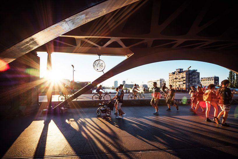 Berlin – Oberbaum Bridge van Alexander Voss