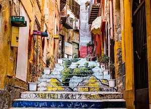 Sicilian steps, Italy