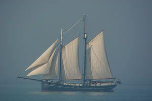 Segelschiff bei Vlissingen von Teus Reijmerink