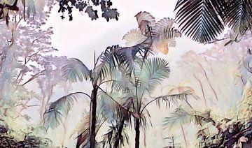 Dschungel Aquarell von Jacob von Sternberg