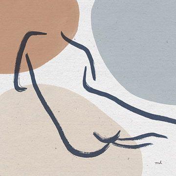 Figuren lijn IV, Moira Hershey van Wild Apple