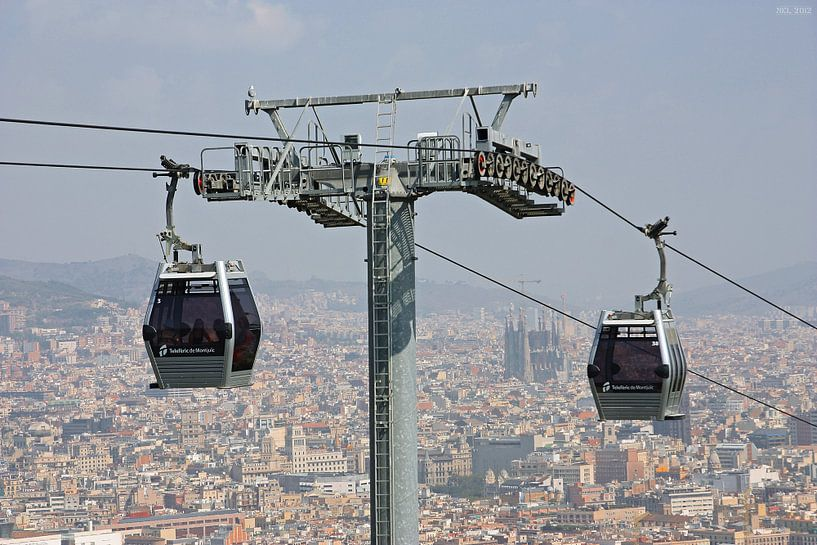 [barcelona] - ... high above the rooftops (no.1) sur Meleah Fotografie